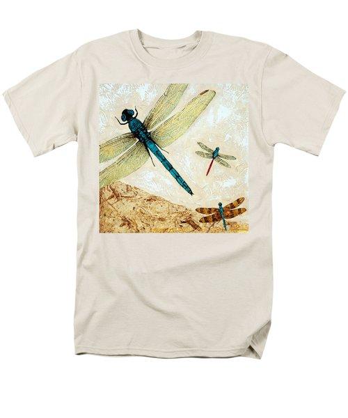 Zen Flight - Dragonfly Art By Sharon Cummings T-Shirt by Sharon Cummings