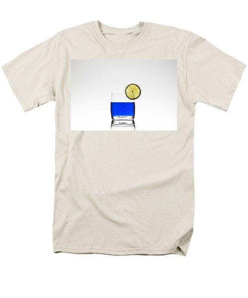 blue cocktail with lemon T-Shirt by Joana Kruse