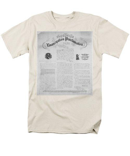 Emancipation Proclamation T-Shirt by Photo Researchers