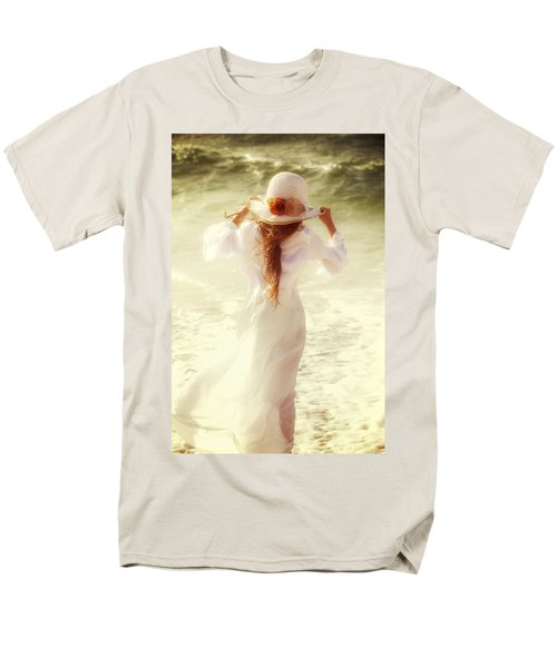 girl with sun hat T-Shirt by Joana Kruse