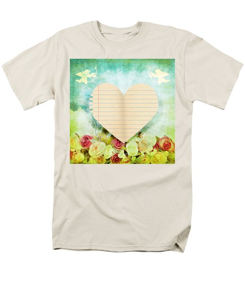 greeting card Valentine day T-Shirt by Setsiri Silapasuwanchai