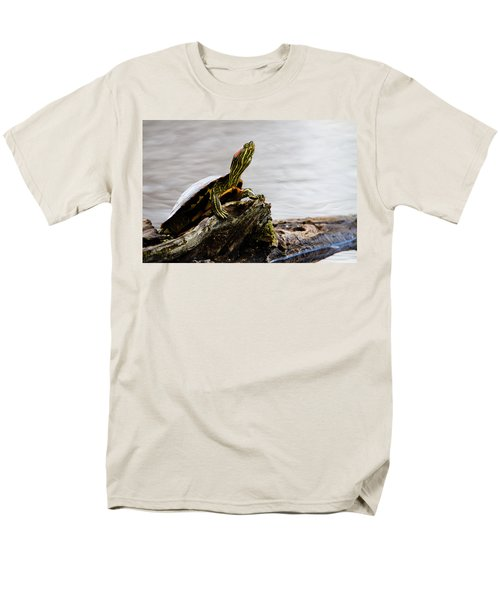 King of the Log T-Shirt by Jason Smith