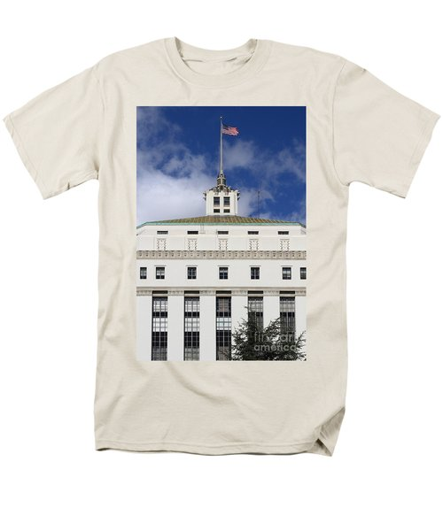Supreme Court of California . County of Alameda . Oakland California View From Oakland Museum . 7D13 T-Shirt by Wingsdomain Art and Photography