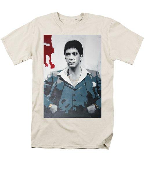 Scarface T-Shirt by Luis Ludzska