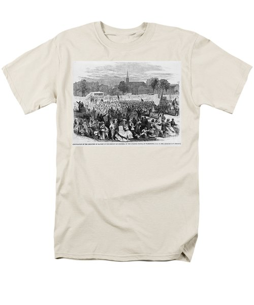 Abolition Of Slavery T-Shirt by Photo Researchers