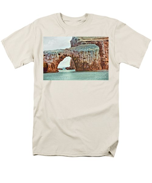 Anacapa Island 's Arch Rock T-Shirt by Cheryl Young