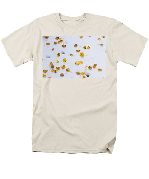 Aspen Leaves in the Snow T-Shirt by James BO  Insogna