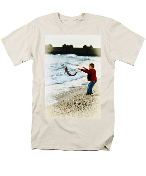 Catch and Release T-Shirt by Bill Cannon