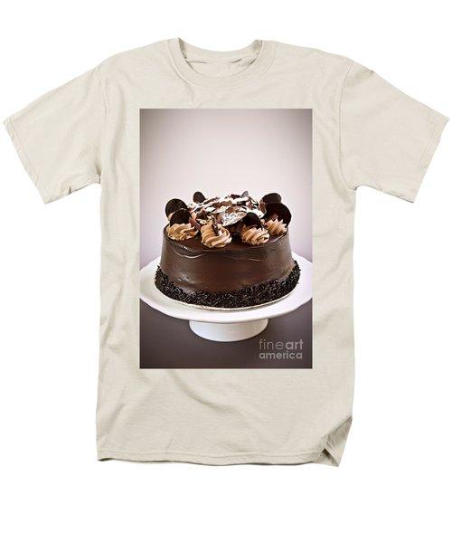 Chocolate cake T-Shirt by Elena Elisseeva