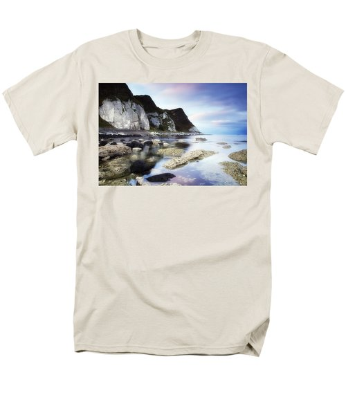 Coast Between Carnlough & Waterfoot, Co T-Shirt by The Irish Image Collection