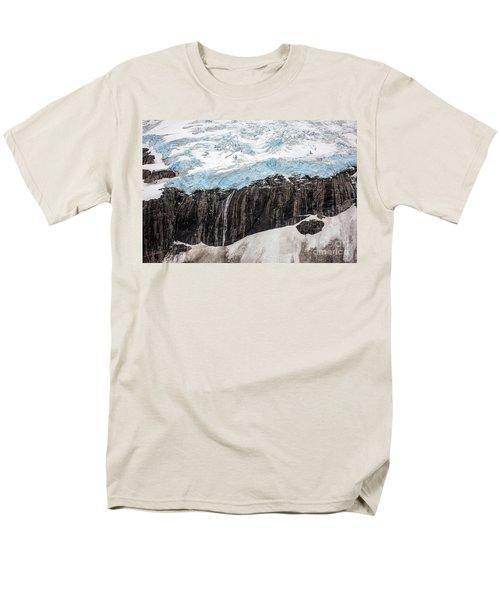 Glacial Edge Waterfall T-Shirt by Mike Reid