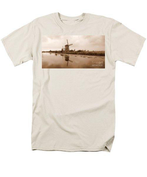 Kinderdijk in Sepia T-Shirt by Carol Groenen