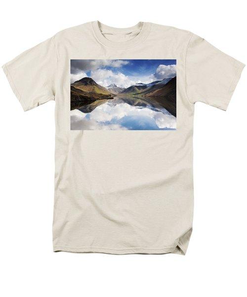 Mountains And Lake, Lake District T-Shirt by John Short