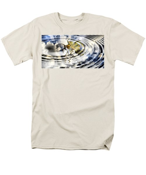 Palm Reflections T-Shirt by Cheryl Young