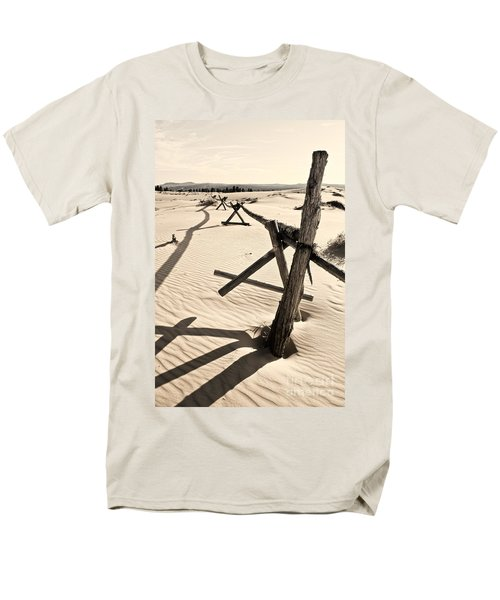 Sand and Fences T-Shirt by Heather Applegate