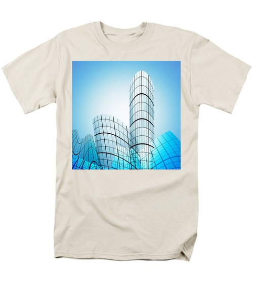 skyscrapers in the city T-Shirt by Setsiri Silapasuwanchai