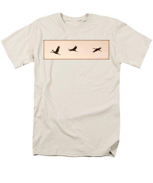 Soaring Sandhills Silhouette T-Shirt by Carol Groenen