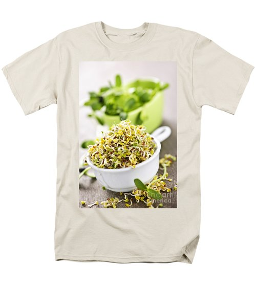 Sprouts in cups T-Shirt by Elena Elisseeva