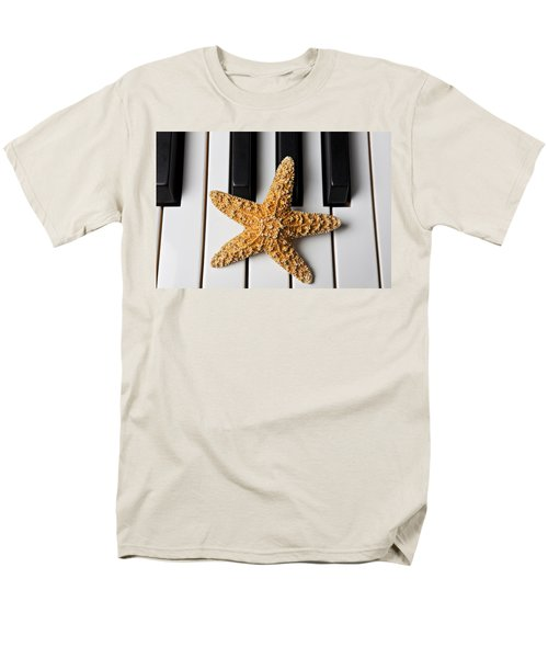Starfish Piano T-Shirt by Garry Gay
