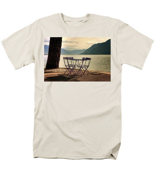 table and chairs T-Shirt by Joana Kruse
