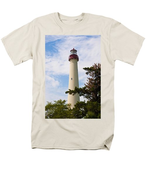 The Lighthouse at Cape May New Jersey T-Shirt by Bill Cannon