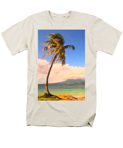 Tropical Island 2 - Painterly T-Shirt by Wingsdomain Art and Photography
