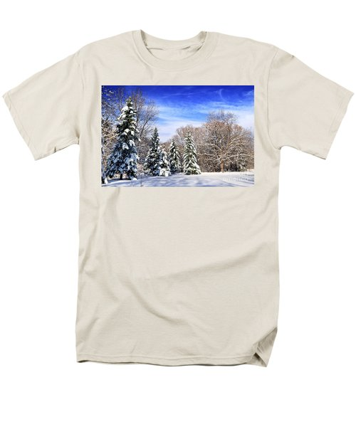 Winter forest with snow T-Shirt by Elena Elisseeva