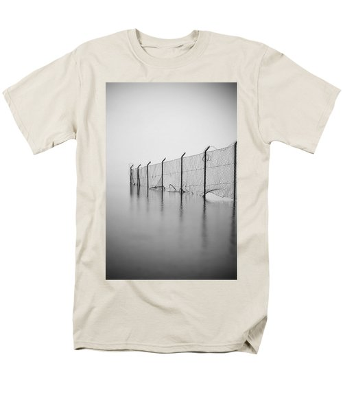 wire mesh fence T-Shirt by Joana Kruse