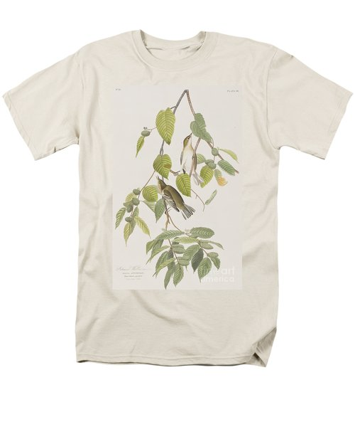 Autumnal Warbler Men's T-Shirt  (Regular Fit) by John James Audubon