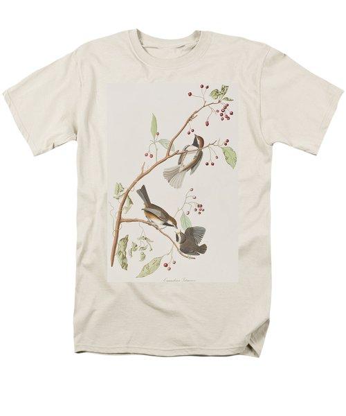 Canadian Titmouse Men's T-Shirt  (Regular Fit) by John James Audubon