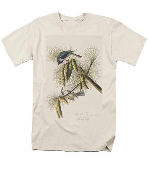 Crested Titmouse Men's T-Shirt  (Regular Fit) by John James Audubon