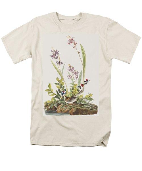 Field Sparrow Men's T-Shirt  (Regular Fit) by John James Audubon