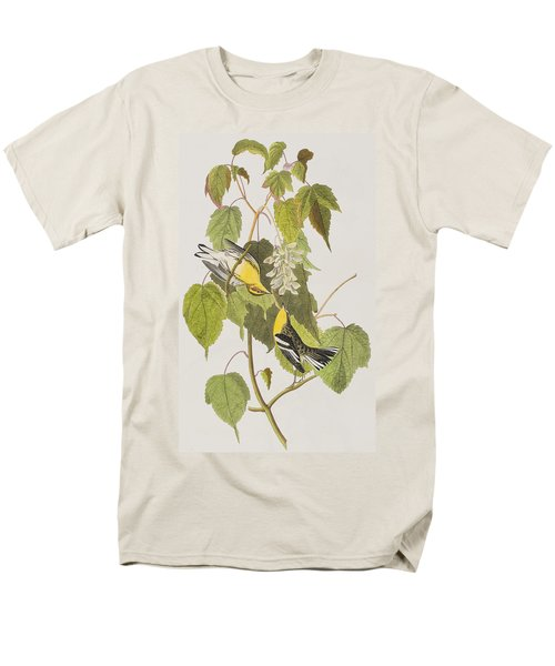 Hemlock Warbler Men's T-Shirt  (Regular Fit) by John James Audubon