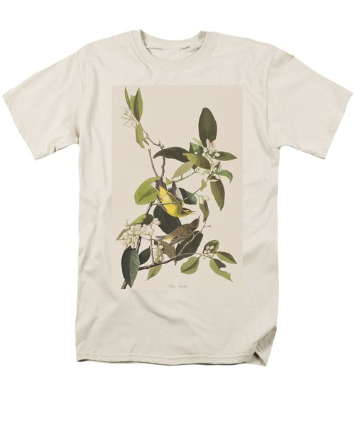 Palm Warbler Men's T-Shirt  (Regular Fit) by John James Audubon