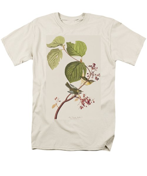 Pine Swamp Warbler Men's T-Shirt  (Regular Fit) by John James Audubon