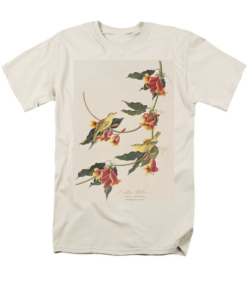 Rathbone Warbler Men's T-Shirt  (Regular Fit) by John James Audubon