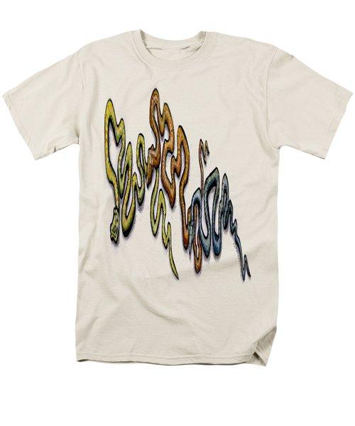 Snakes Men's T-Shirt  (Regular Fit) by Kevin Middleton