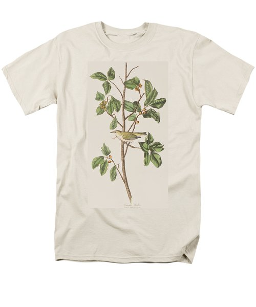 Tennessee Warbler Men's T-Shirt  (Regular Fit) by John James Audubon
