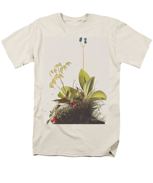 Wood Wren Men's T-Shirt  (Regular Fit) by John James Audubon