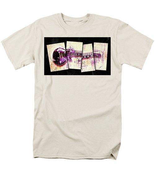 1955 Les Paul Custom Black Beauty V3 Men's T-Shirt  (Regular Fit) by Gary Bodnar