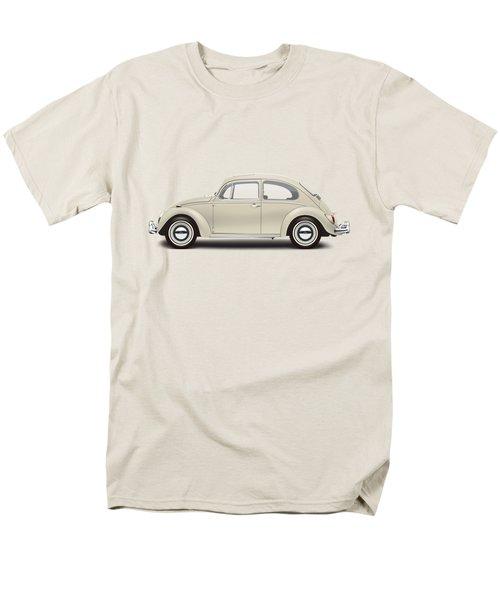 1965 Volkswagen 1200 Deluxe Sedan - Panama Beige Men's T-Shirt  (Regular Fit) by Ed Jackson