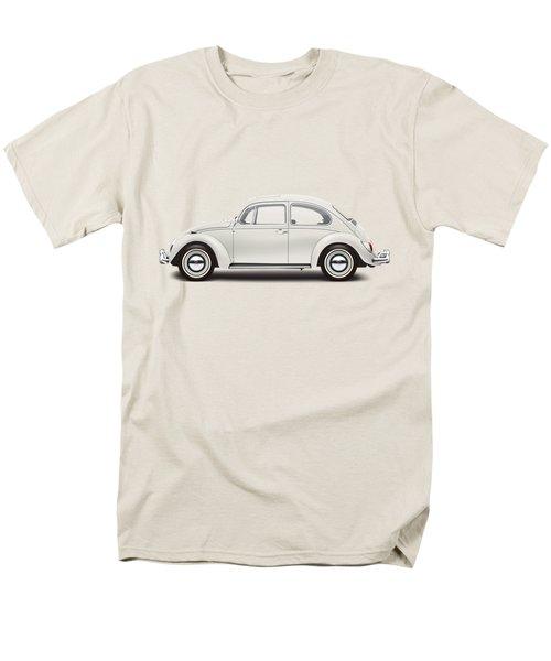1966 Volkswagen 1300 Sedan - Pearl White Men's T-Shirt  (Regular Fit) by Ed Jackson