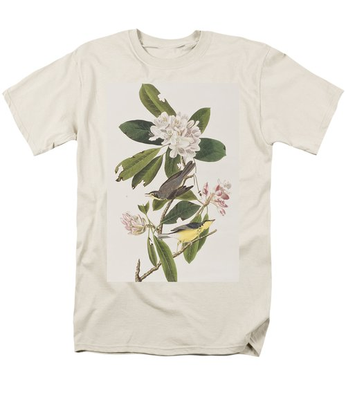Canada Warbler Men's T-Shirt  (Regular Fit) by John James Audubon