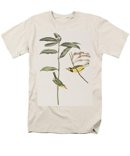 Hooded Warbler  Men's T-Shirt  (Regular Fit) by John James Audubon