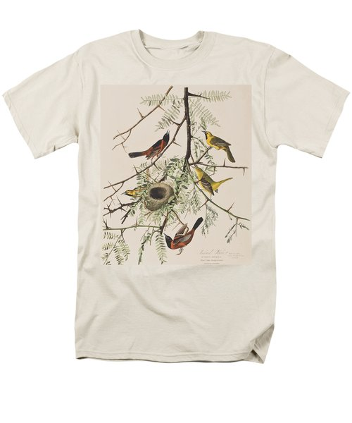 Orchard Oriole Men's T-Shirt  (Regular Fit) by John James Audubon