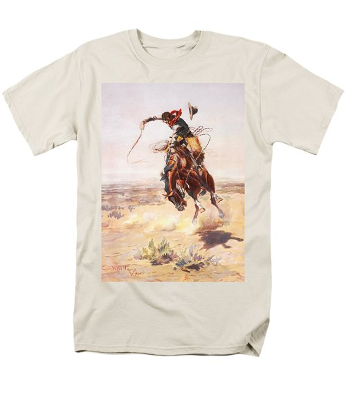 A Bad Hoss T-Shirt by Charles Russell