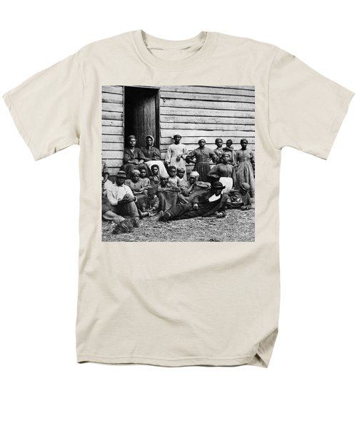 A Group Of Slaves T-Shirt by Photo Researchers