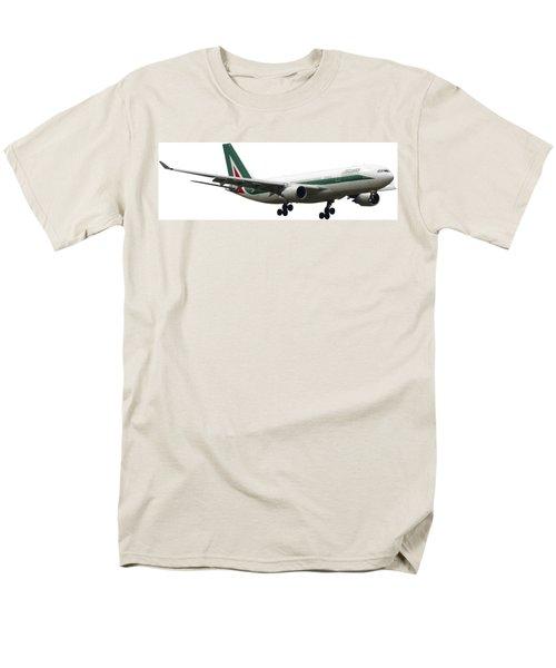 Alitalia, Airbus A330-202. Men's T-Shirt  (Regular Fit) by Amos Dor
