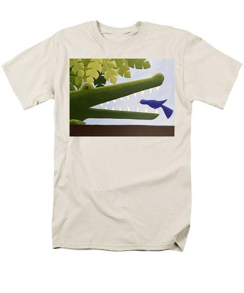 Alligator Nursery Art Men's T-Shirt  (Regular Fit) by Christy Beckwith