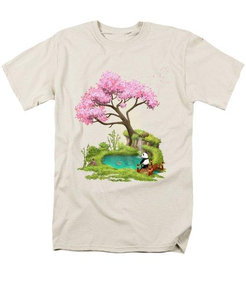Anjing II - The Zen Garden Men's T-Shirt  (Regular Fit) by Carlos M R Alves